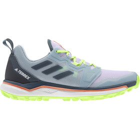 adidas TERREX Agravic Zapatillas Trail Running Mujer, purple tint/legacy blue/signal green